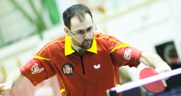 El palista paralímpico español, Eduardo Cuesta. Fuente: RFETM
