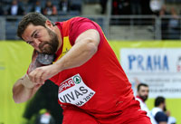 El lanzador Borja Vivas. Fuente: RFEA