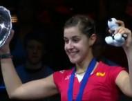 Carolina Marín conquista la triple corona con el All England