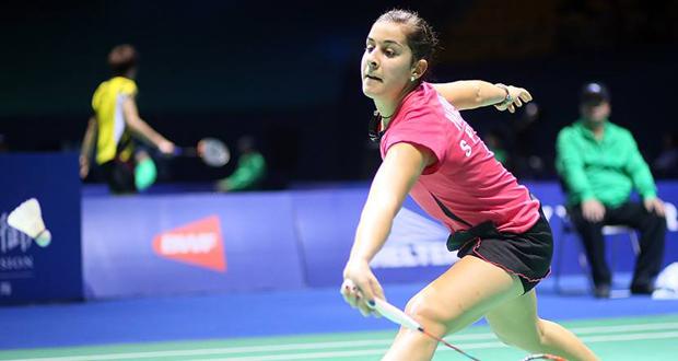 La campeona del mundo de bádminton, Carolina Marín. Fuente: BWF