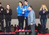 Los hermanos García, campeones de España de dobles mixtos