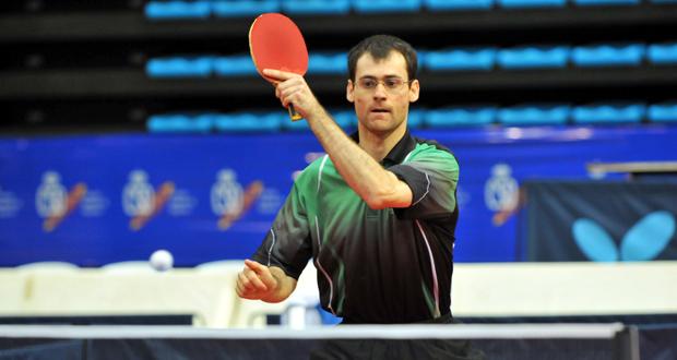 El palista mostoleño, Eduardo Cuesta, uno de los mejores jugadores del mundo. Fuente: AD