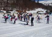 Laura Orgué e Imanol Rojo, campeones de España de clásico de esquí de fondo