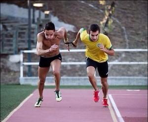 Marcos Blanquiño y Gerard Descarrega. Fuente: JP