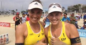 Elsa Baquerizo y Lili Fernández. Fuente: AD