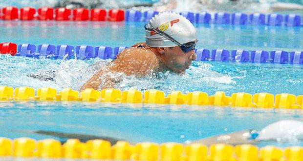 El nadador español. Miguel Luque, ganó 2 oros en el Open de Glasgow. Fuente: CSD
