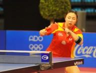Yanfei Shen se queda fuera del Mundial de tenis de mesa