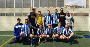 El equipo de Alicante. Fuente: AD