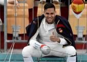 """Yulen Pereira: """"Me considero un esgrimista imprevisible, con mucho ritmo y un punto loco"""""""