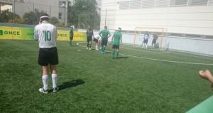 Marcelo Rosado en un partido con Málaga. Fuente: AD