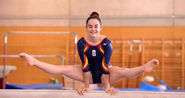 La gimnasta sevillana, Ana Pérez, será una de las referencias del equipo español en el Europeo. Fuente: RFEG