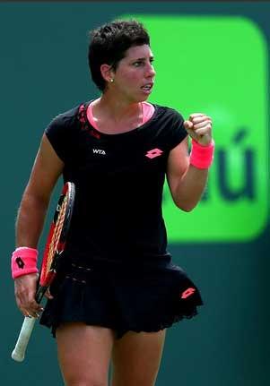 Carla Suárez. Fuente: WTA