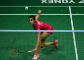 Carolina Marín, en la final del Malasia Open