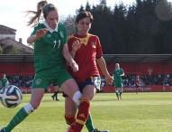 España gana a Irlanda con un gol de Jenni Hermoso