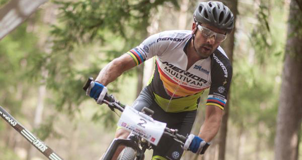 El 'biker' José Antonio Hermida. Fuente: RFEC