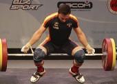 Josué Brachi se proclama subcampeón de Europa de halterofilia