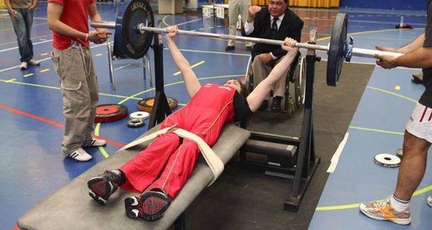 La levantadora de peso, Lioda Zabala, durante una competición. Fuente: AD