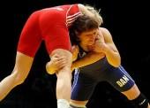 Empacho de medallas para los luchadores en el Campeonato Mediterráneo