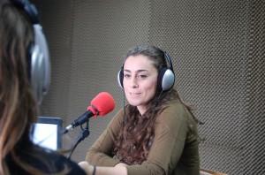 Marta López en Avance Deportivo Radio. Fuente: Avance Deportivo
