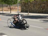 Martín Berchesi domina la Copa de handbikes y triciclos
