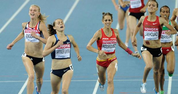 La atleta española Natalia Rodríguez continuará en activo, al menos, hasta Río de Janeiro 2016. Fuente: AD