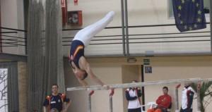 El gimnasta Néstor Abad. Fuente: AD