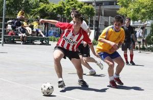 Deporte joven. Fuente: AD