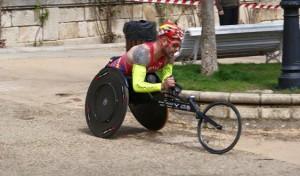 Rafa Botello, 13º en la maratón de Boston