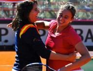 Sorribes y Arruabarrena colocan a España a un punto de la permanencia