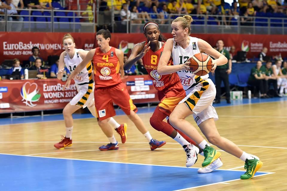 Eurobasket femenino. Fuente: FIBA