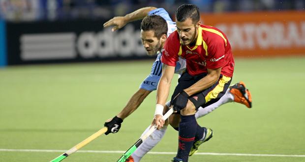 España no pudo con Argentina y se jugará sus opciones de estar en Río ante Holanda. Fuente: RFEH
