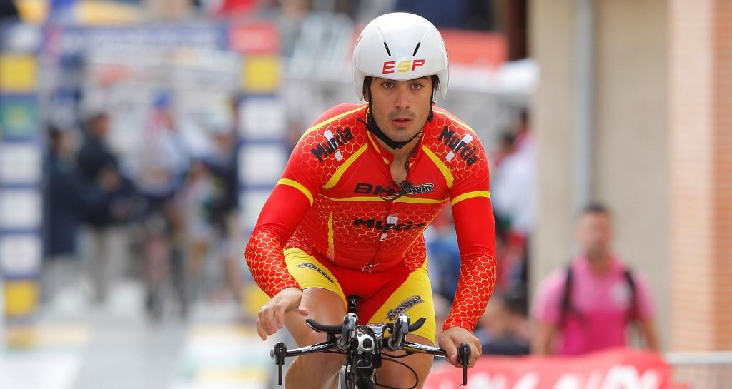 El ciclista español César Neira. Fuente: Cofidis