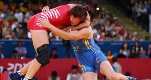 La luchadora alavesa. Fuente: maiderunda.com
