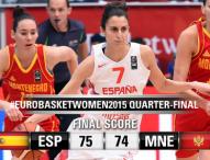 España a semifinales con mucho sufrimiento (75-74)