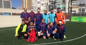 El equipo de Tarragona. Fuente: AD