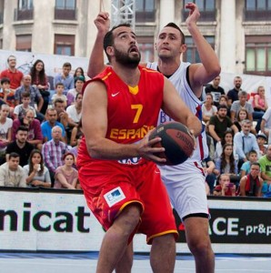 El malagueño Juan Vasco. Fuente: FIBA