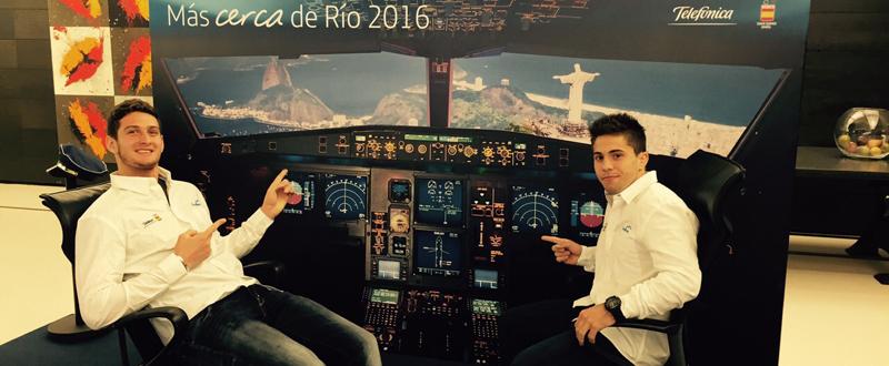 Los judokas Nikoloz Sherazadishvili y Fran Garrigós apuntan a Río 2016. Fuente: AD