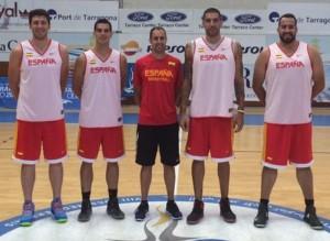 El equipo español de 3x3. Fuente: AD