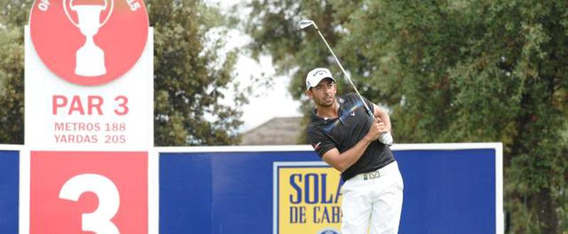 El golfista español, Pablo Larrazábal. Fuente: Luis Corralo