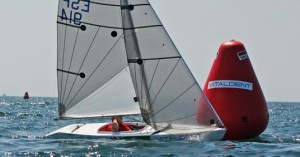 Andarias en su embarcación 2.4mR. Fuente: AD
