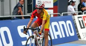 La ciclista Anna Sanchís. Fuente: RFEC