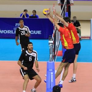 Selección española de voleibol. Fuente: Rfevb