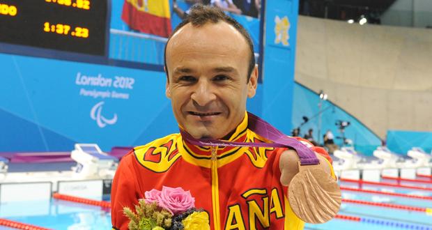 Ricardo Ten, medalla de bronce en los 100 metros braza