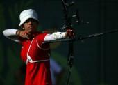 Alicia Marín, flechas de bronce en Baku