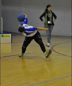 Arantxa Sorribes. Fuente: goalball.es