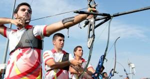 Los arqueros españoles. Fuente: archery world