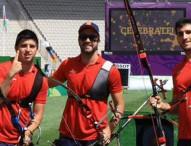 Los arqueros españoles alcanzan la plata en Baku
