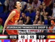 España gana a Hungría 46-69 en el Eurobasket