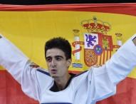 Joel González, abanderado español en Baku