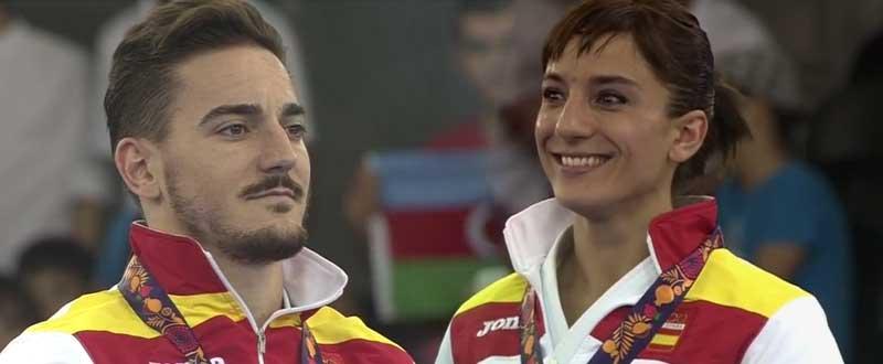 Damián Quintero y Sandra Sánchez. Fuente: AD